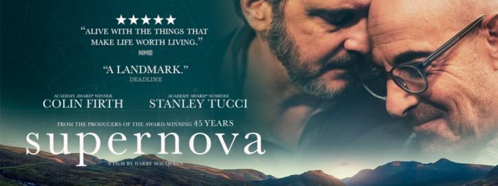 Proiezione in lingua originale con sottotitoli in italiano: SUPERNOVA - Martedì 19 Ottobre alle 21