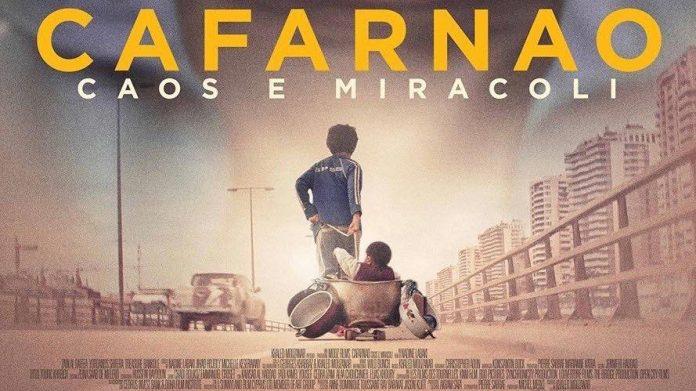 Cinema Weekend: CAFARNAO- sabato 18 maggio ore 21.00 e domenica 19 maggio ore 18.15 e ore 21.00